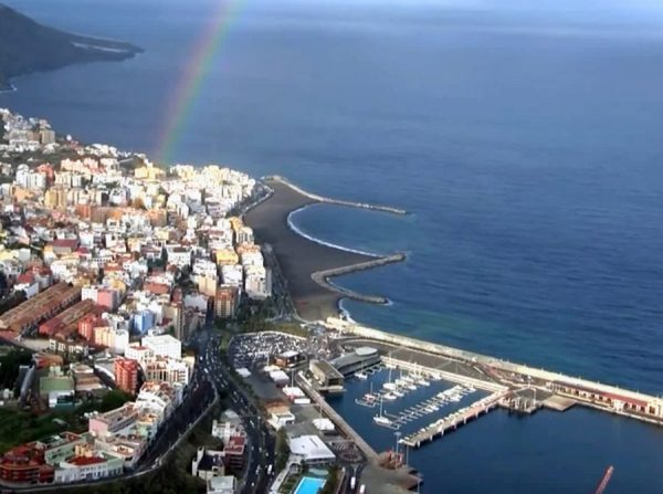 (English) Santa Cruz de la Palma Beach