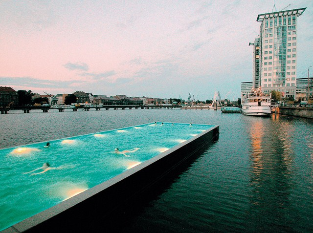 Swimming Pool in Spree River