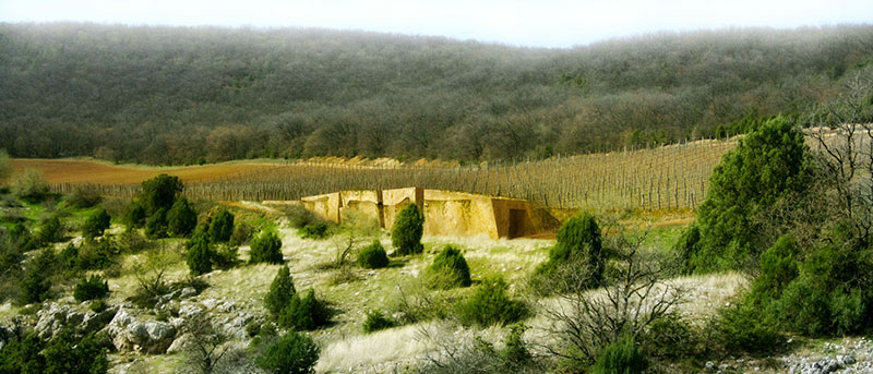 Presentation of the winery in Crimea