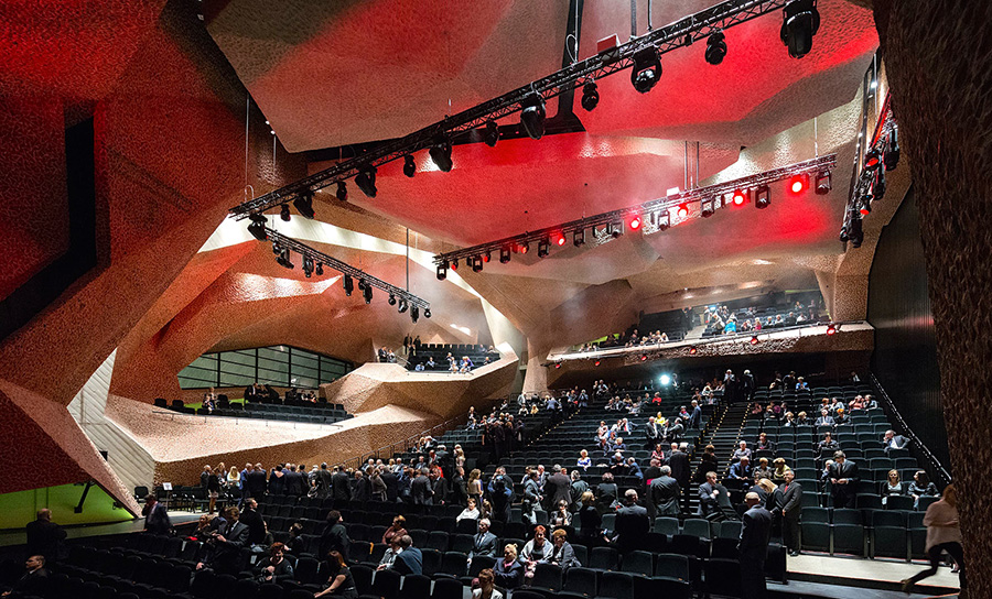 Inauguration of the auditorium JORDANKI in Torun – Poland